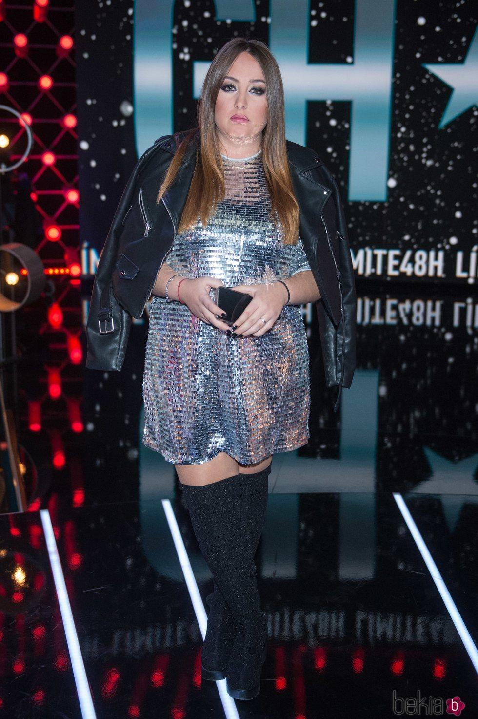 Rocío Flores en la gala 10 de 'Límite 48 horas'