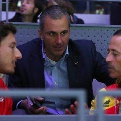 Javier Ortega Smith en la Copa Davis 2019