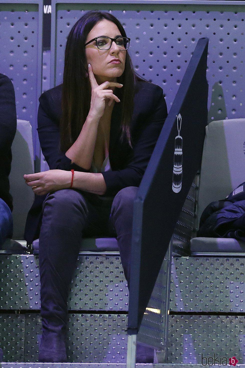 Irene Junquera en la Copa Davis 2019