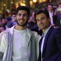 Marco Asensio y David Ferrer en la Copa Davis 2019