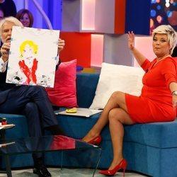 Terelu Campos y Bigote Arrocet divirtiéndose en 'Aquellos maravillosos años'