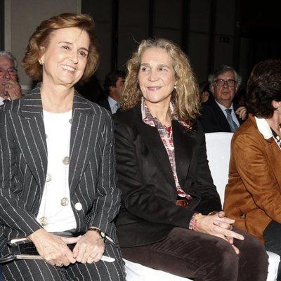 La Infanta Elena en la Gala de la Fundación Casajares