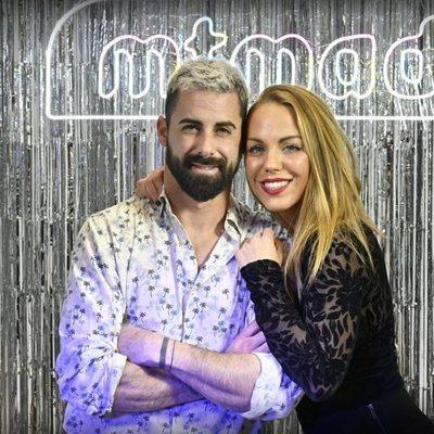 Yoli y Jonathan en la celebración del tercer aniversario de MTMAD