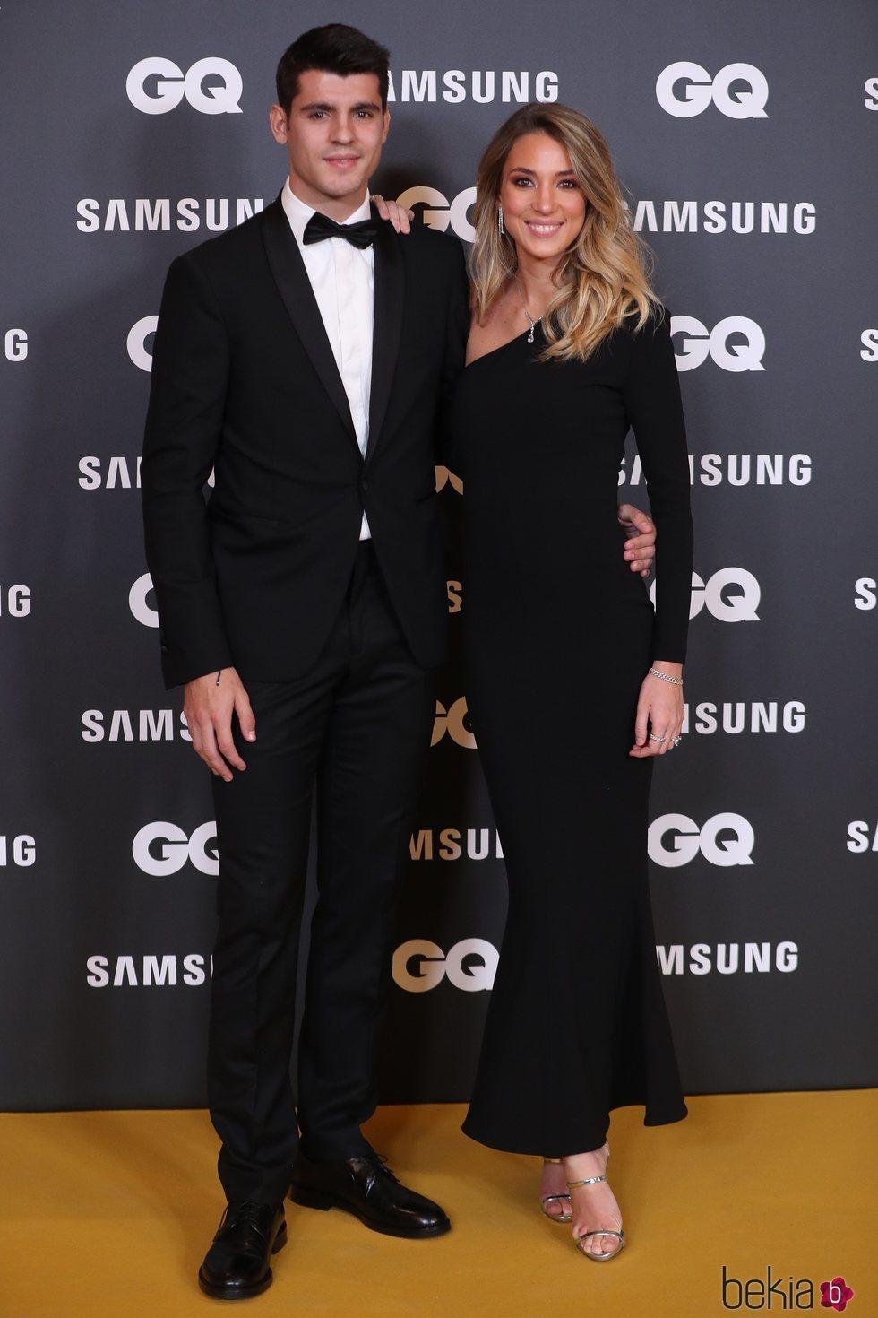 Álvaro Morata y Alice Campello en los Premios GQ Hombres de Año 2019