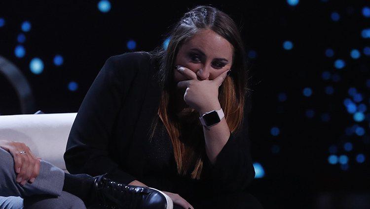 Rocío Flores muy preocupada por la expulsión en la gala 12 de 'GH VIP 7'