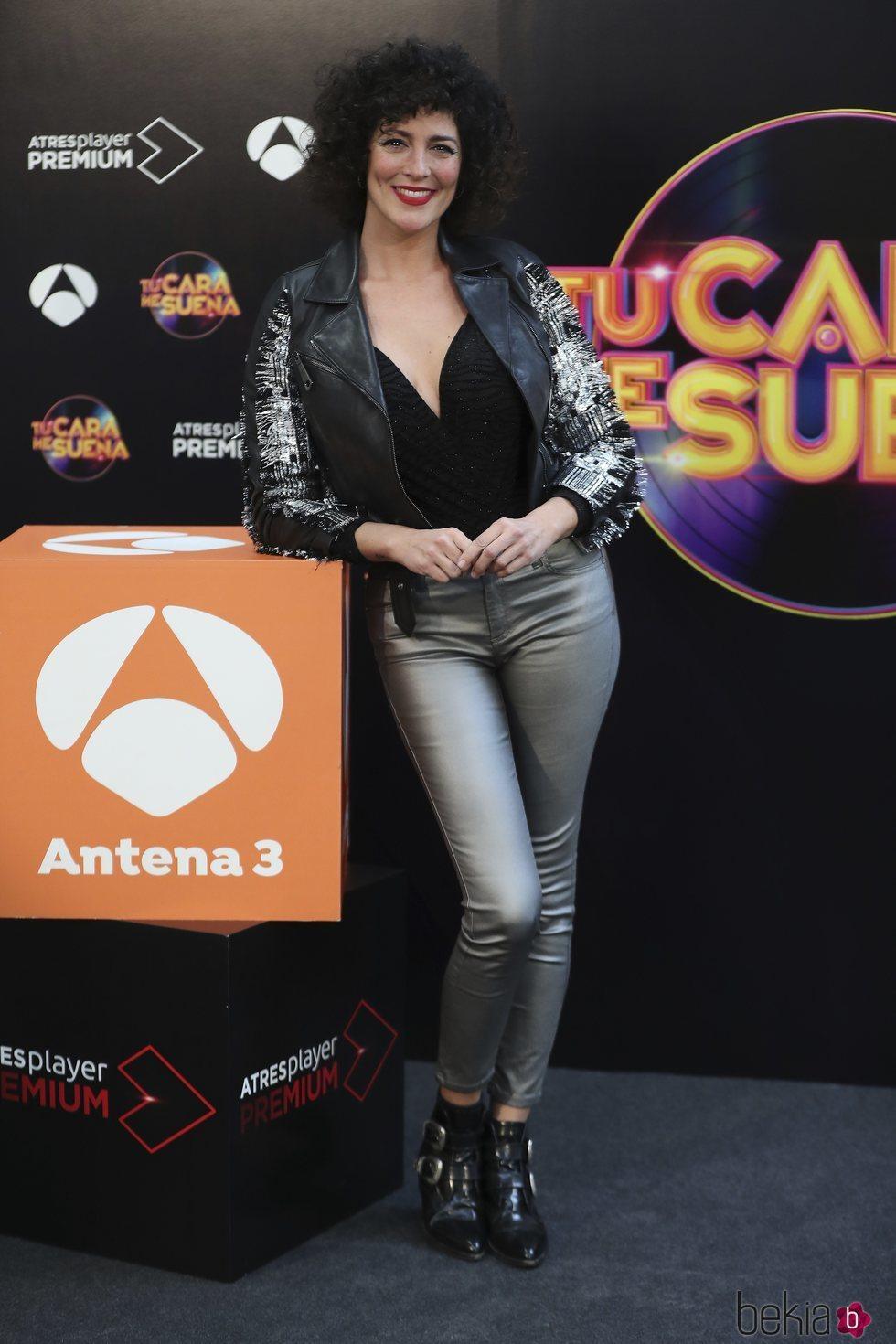 Rocío Madrid en la presentación de 'TCMS 8'