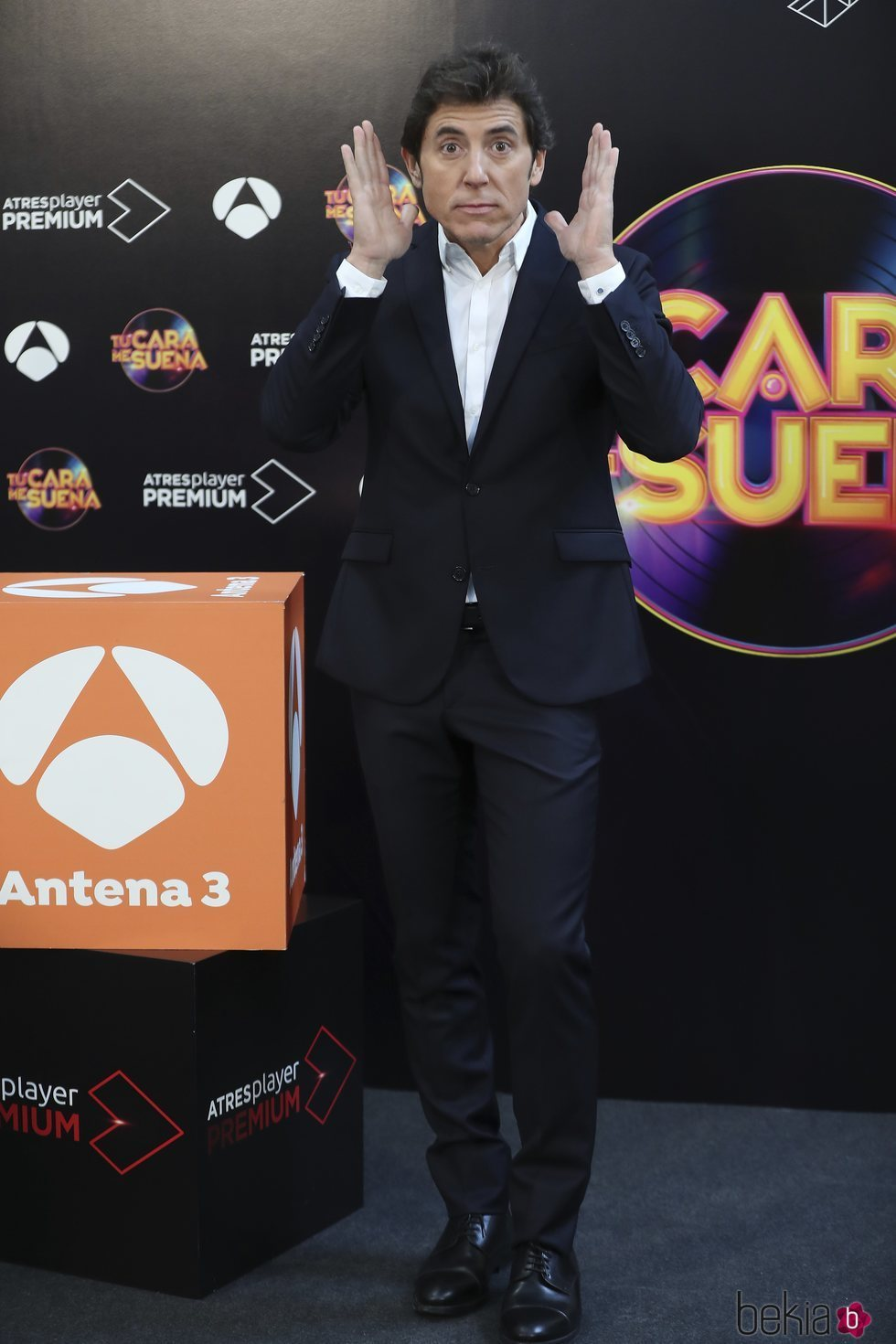 Manel Fuentes en la presentación de 'TCMS 8'