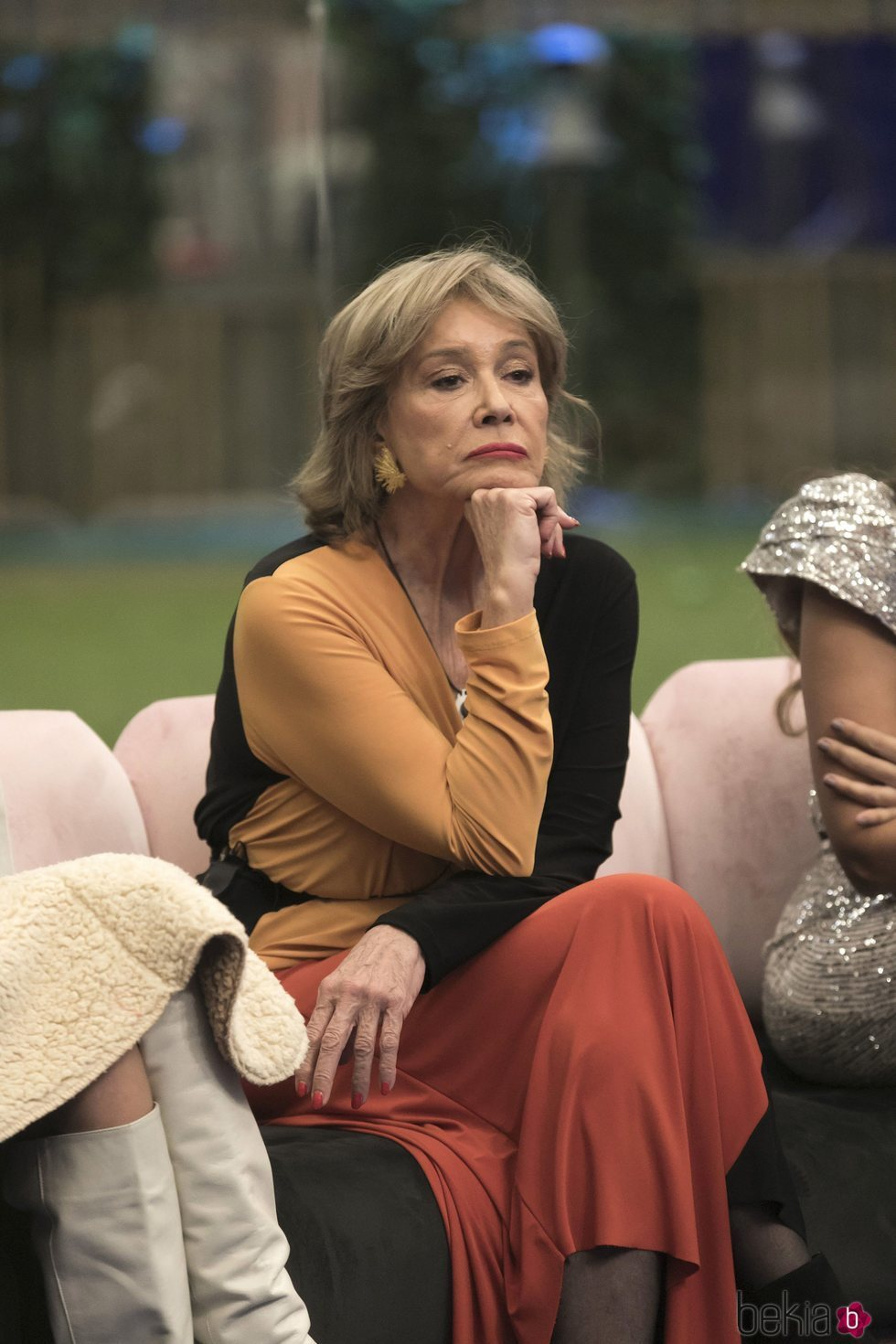 Mila Ximénez muy seria en la gala 12 de 'GH VIP 7'