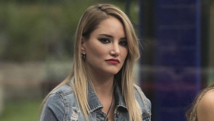 Alba Carrillo muy seria en la gala 12 de 'GH VIP 7'