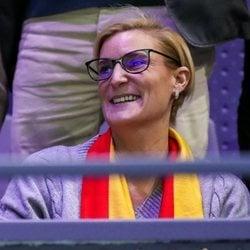 María Zurita en la Copa Davis 2019