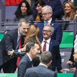 Shakira conoce al Rey Felipe en la Copa Davis 2019