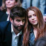 Shakira y Gerard Piqué, cómplices en la final de la Copa Davis 2019