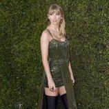 Taylor Swift llegando a los premios AMAs 2019