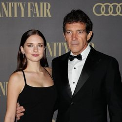 Antonio Banderas y Stella del Carmen en la 'Fiesta Personaje del año Vanity Fair 2019'