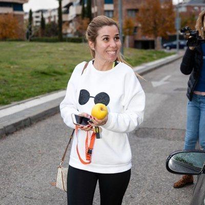 Natalia Rodríguez va a casa de Chenoa a hacer gimnasia