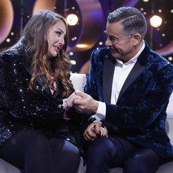 Rocío Flores y Jorge Javier Vázquez se despiden en la gala 12 de 'GH VIP 7'