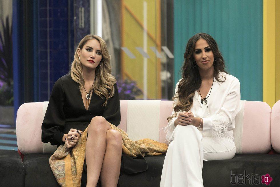 Alba Carrillo y Noemí Salazar en la gala 12 de 'GH VIP 7'