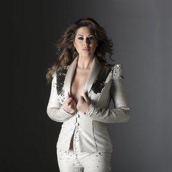Tamara en una foto promocional de su álbum '20 años de amor'