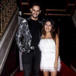 Asraf Beno y Chabelita Pantoja en la fiesta de Navidad de Unicorn