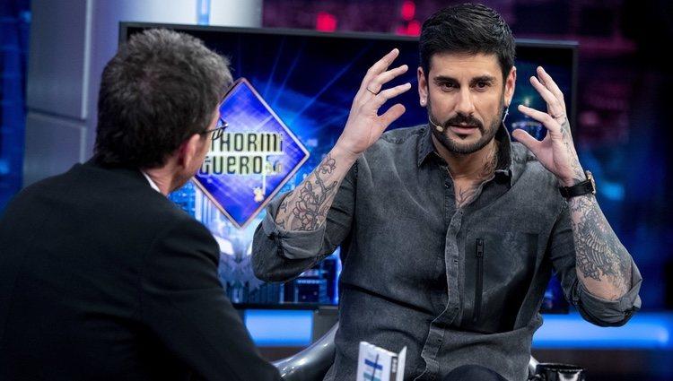 Melendi con Pablo Motos en 'El hormiguero'
