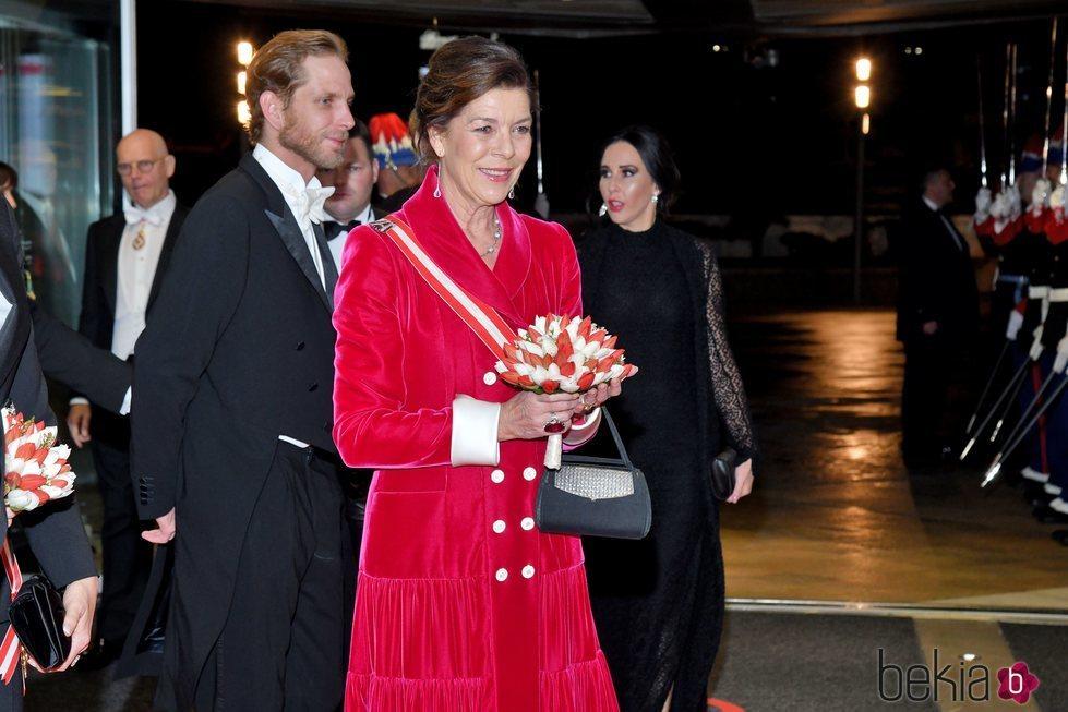 Carolina de Mónaco en la gala por el Día Nacional de Mónaco 2019