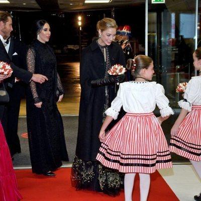 Carolina de Mónaco y Beatrice Borromeo en la gala del Día Nacional de Mónaco 2019