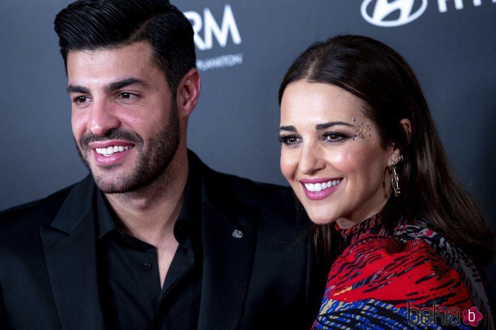 Paula Echevarría y Miguel Torres en la fiesta del 15 aniversario de In Style