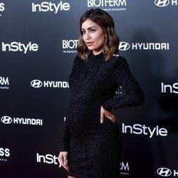 Hiba Abouk en la fiesta del 15 aniversario de In Style