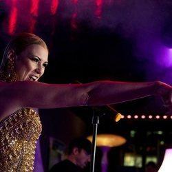 María Jesús Ruiz, emocionada debutando como cantante