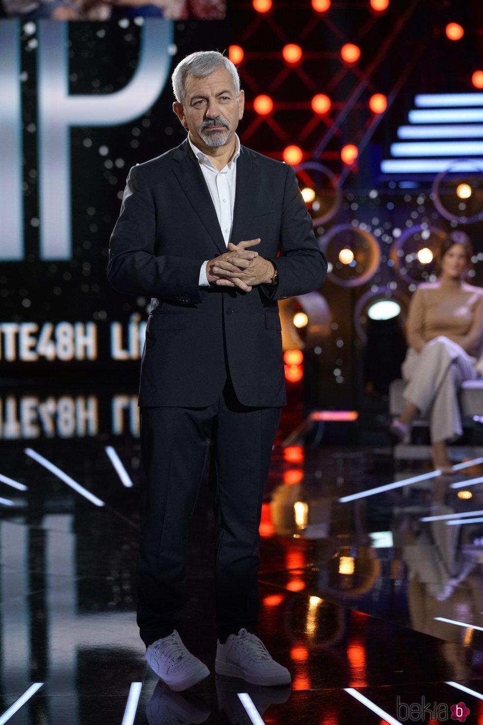 Carlos Sobera en la gala 12 de 'Límite 48 horas'