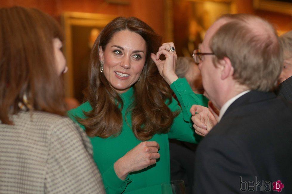 Kate Middleton en la recepción en Buckingham Palace por el 70 aniversario de la OTAN