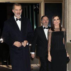 Los Reyes Felipe y Letizia en los Premios Mariano de Cavia 2019