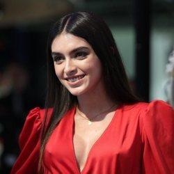 Lucía Rivera, invitada al encendido de Navidad 2019 del World Duty Free del aeropuerto de Madrid