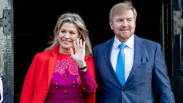 Guillermo y Máxima de Holanda en los Premios Príncipe Claus 2019