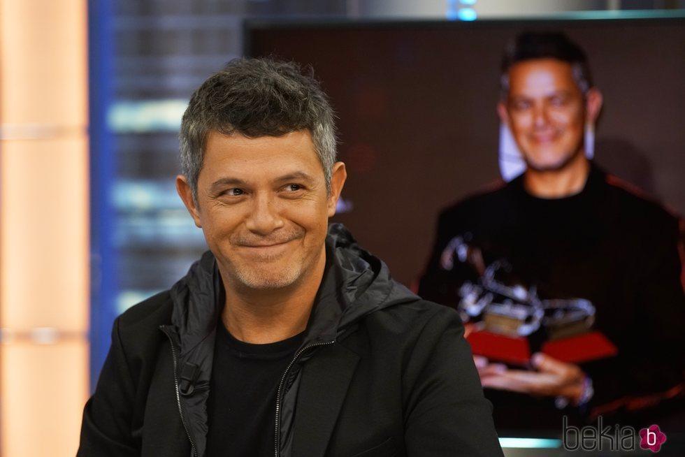 Alejandro Sanz promocionando '#ElDisco' en 'El hormiguero'