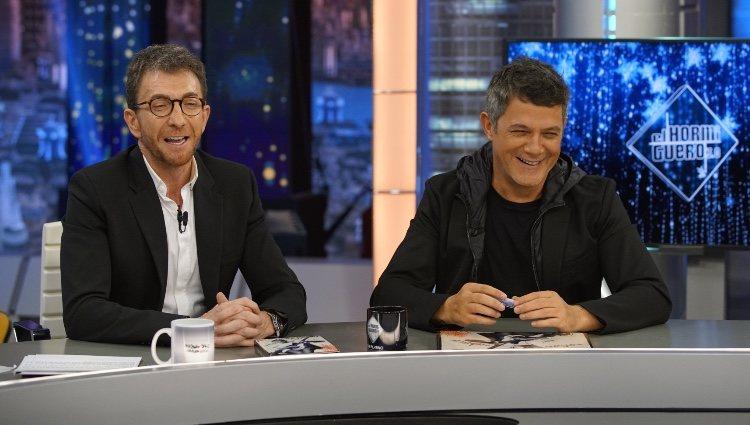 Alejandro Sanz promocionando '#ElDisco' con Pablo Motos en 'El hormiguero'