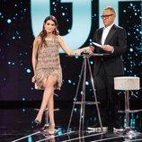 Estela Grande con Jordi González tras su expulsión en la Gala 14 de 'GH VIP 7'
