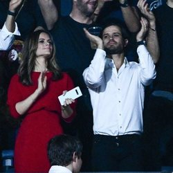El Príncipe Carlos Felipe y Sofia Hellqvist en un concierto homenaje a Avicii