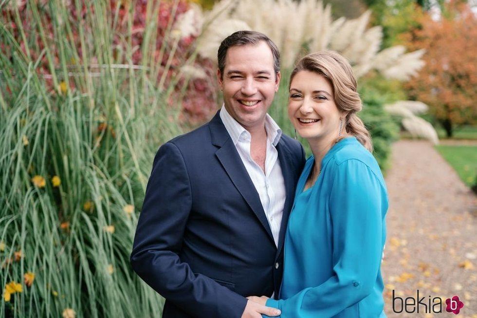 Guillermo y Stéphanie de Luxemburgo anuncian que esperan su primer hijo