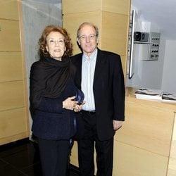 Julia Gutierrez Caba y Emilio Gutierrez Caba en los Premios Segundo Chomon 2010