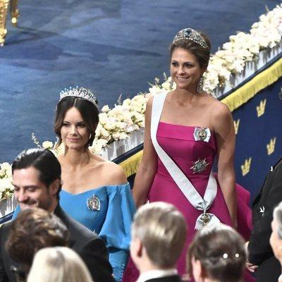 Sofia Hellqvist y Magdalena de Suecia en los Nobel 2019