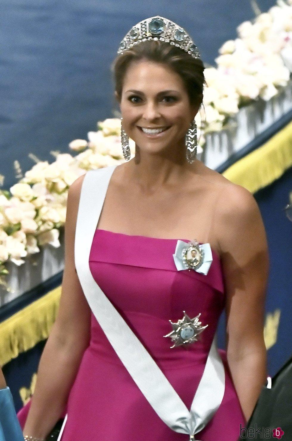 Magdalena de Suecia en los premios Nobel 2019