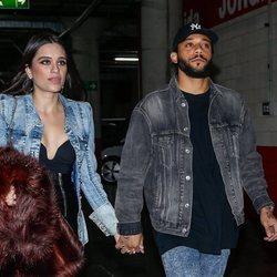 Marcelo y Clarisse Alves llegando al concierto de Rosalía en Madrid