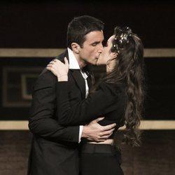 Adara y Hugo Sierra se besan en la gala 14 de 'GH VIP 7'