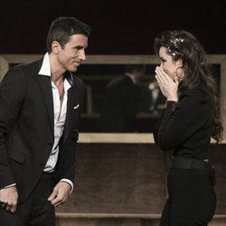 Adara y Hugo Sierra en la gala 14 de 'GH VIP 7'