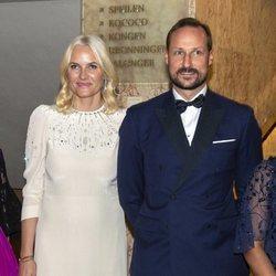 Haakon y Mette-Marit de Noruega en el Nobel de la Paz 2019