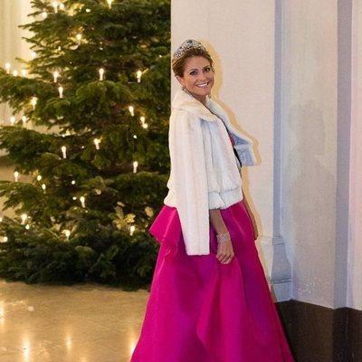 Magdalena de Suecia en la entrega de los Premios Nobel 2019