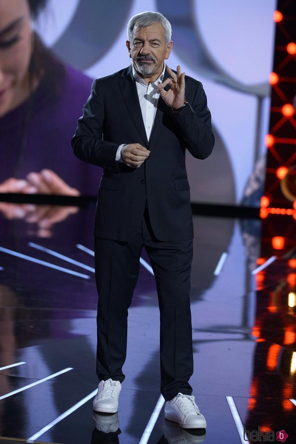 Carlos Sobera en la gala 13 de 'Límite 48 horas'