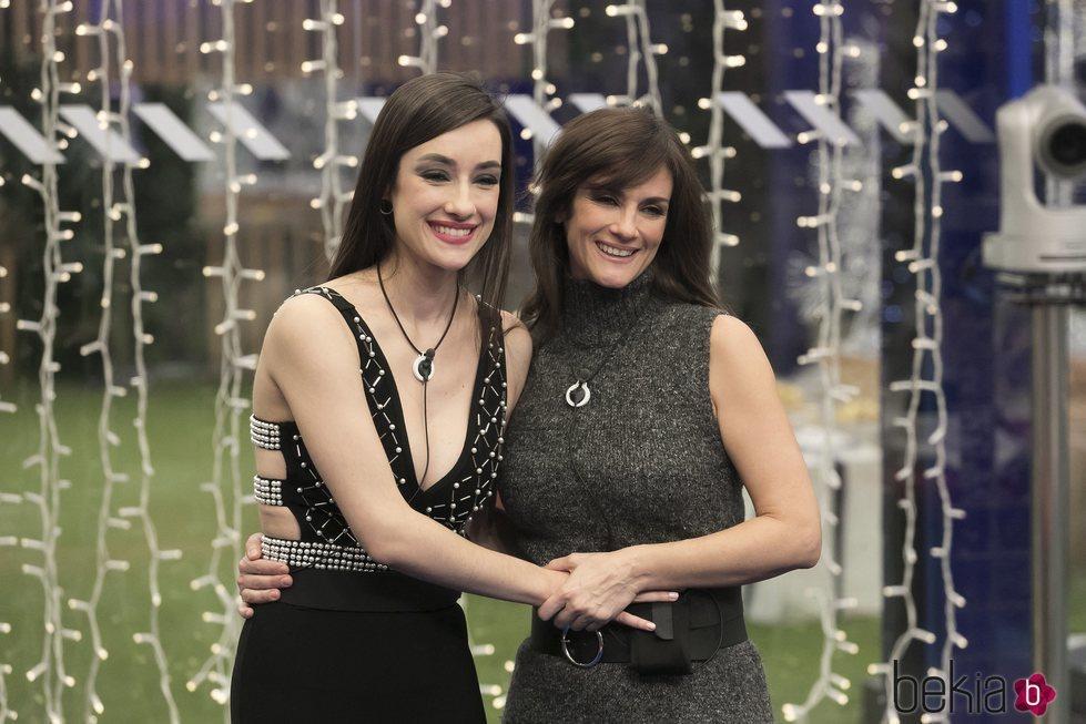 Adara y su madre Elena en la gala 15 de 'GH VIP 7'