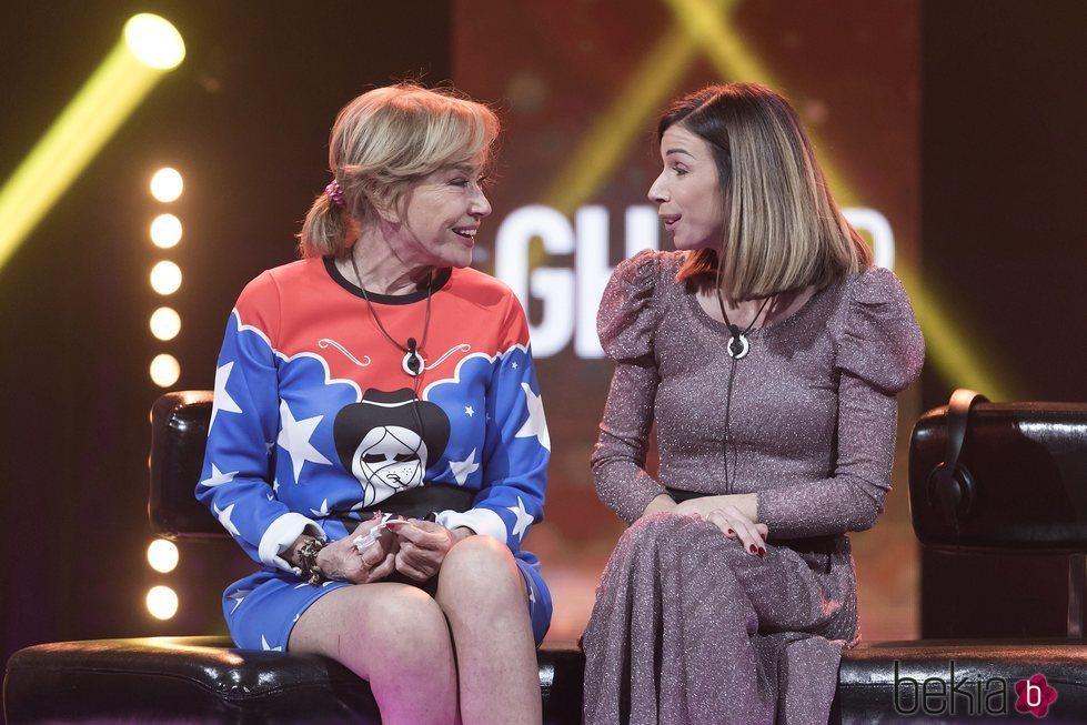 Mila Ximénez y su hija Alba en la gala 15 de 'GH VIP 7'